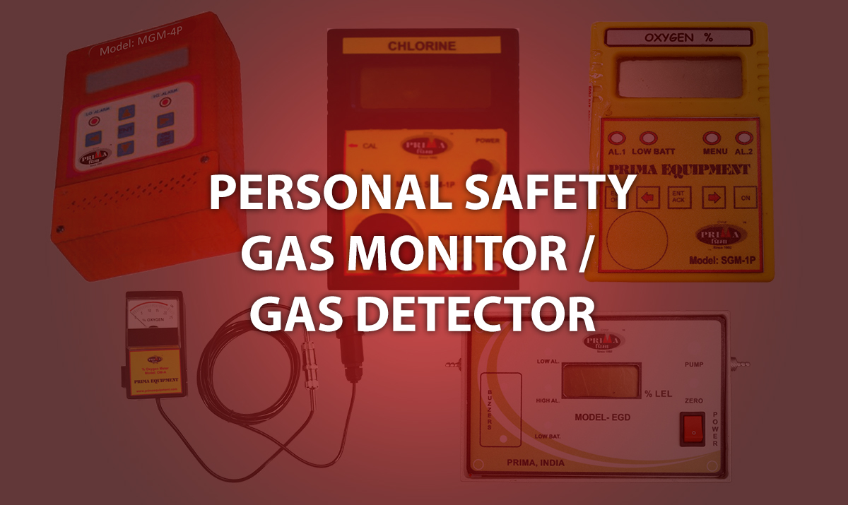 PERSONAL SAFETY GAS MONITOR / DETECTOR